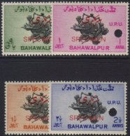 """1949  UPU Official Set, SG O28/31, Overrpinted """"SPECIMEN"""" In Red, Each With Security Punch Hole. Superb NHM, Ex...."""