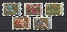 RUSSIE . YT 3388/3392 Neuf ** Jeux Olympiques De Mexico 1968