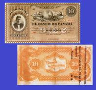 PANAMA 10 PESOS 1869 -- Copy - Copy- Replica - REPRODUCTIONS - Panama