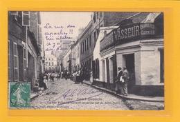 SAINT-QUENTIN -02- PROSTITUTION - COMMERCES - HOTELS - Prostituées, La Rue Villebois Mareuil Et Hôtel Vasseur- Animation - Saint Quentin