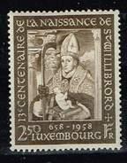 Luxemburg 1958/63, Michel # 584 + 679 ** 10 Jahre Europäische Konvention Für Menschenrechte