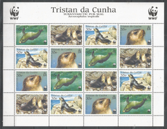 TRISTAN DA CUNHA - MNH - Animals - Marine Mammals - WWF
