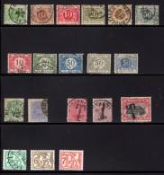 Diverse Strafportzegel, Dienstzegels, Militaire Post En Een Dagbladzegel