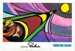Image Chocolat Poulain Série N° 244 : A Demain Sur La Lune => Image N° 68 - Chanson Musique ADAMO - Poulain