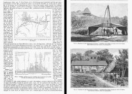 LE PERCEMENT DE L'ISTHME DE PANAMA   1882 (4) - Sciences & Technique