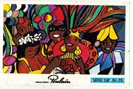 Image Chocolat Poulain Série N° 246 : Rendez Vous à BRASILIA => Image N° 79 - Chanson Musique AZNAVOUR - Poulain