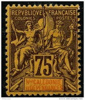 Nouvelle Caledonie (1892) N 52 * (charniere) - New Caledonia