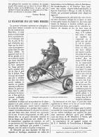 LE VELOCIPEDE SUR LES VOIES FERREES    1882 - Transportation