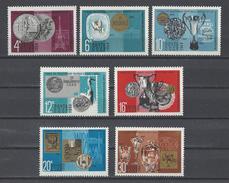 RUSSIE . YT 3432/3438 Neuf ** Récompenses Obtenues Aux Expositions Philatéliques 1968