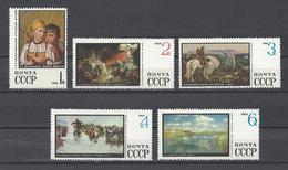 RUSSIE . YT 3443/3452  Neuf ** Tableaux Du Musée D'Etat De Leningrad 1968