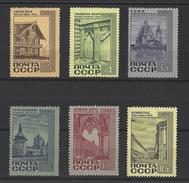 RUSSIE . YT 3453/3458 Neuf ** Monuments De L'architecture 1968