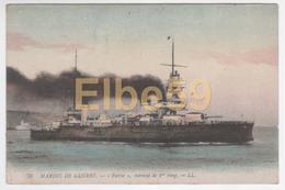 Marine Nationale, Cuirassé Du 1er Rang Patrie, écrite - Guerra