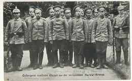 Russian Prisoners In Germany Gefange Russische Ulanen Von Der Vernichten Narew Armee Edit Adolf Gohring Charlottenburg - Russia