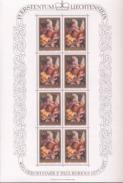 Lichtenstein 655 - 657 Bogensatz Peter Paul Rubens  / Sheet ** Postfrisch MNH