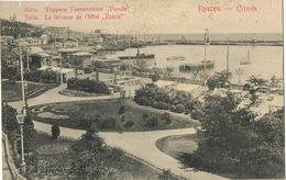 "Yalta Crimée La Terrasse De L' Hotel "" Russie "" Small Defects At The Top - Russia"