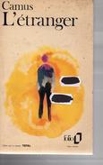 Albert Camus - L'étranger - Gallimard 1972 - Roman - Poche - Non Classés