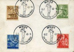 21847 Germany Reich,special Postmark 1943 Wels, Die Venus Von Wels, Sculpture Of Venus