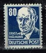 DDR 1952, Michel # 339 Xb X II ** - Ungebraucht