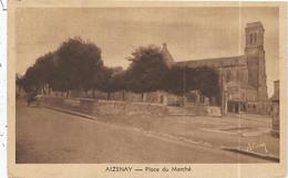 Vendée : Aizenay, Place Du Marché - Aizenay