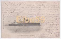 Marine Nationale, Cuirassé à Tourelles St.-Louis, écrite 1901 - Guerra