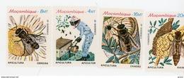 Mozambique 1985-Abeille, Miel-YT 983/6***MNH