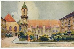 Bratislava Art Card By K. Cerny Radnica - Slovakia