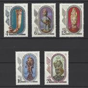 RUSSIE . YT 3522/3526 Neuf ** Musée Des Cultures Orientales  De Moscou 1969