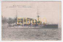Marine Nationale, Cuirassé D'Escadre à Turbines Condorcet, écrite - Guerra