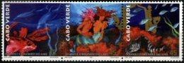 CAPE VERDE, 1997, EXPO'98, OCEANS, R#374-76, MNH - Kap Verde