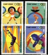 CAPE VERDE, 1992, BARCELONA OLYMPICS, R#278-81, MNH - Kap Verde