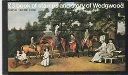 Grande Bretagne 1980 - Carnet Prestige - Story Of Wedgwood - Neuf** - Très Beau (2 Scans) (Lot 3) - Booklets