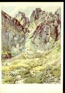 21857 Ceskoslovensko, Stationery Card 1951 Showing Pri Skalnatom Plese, Maliar Alojz Struhar