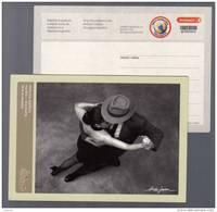 Correo Privado Andreani - Pareja De Baile - Tango -2009 - Argentina - 1 Entero Postal Internacional - POSTAL STATIONERY