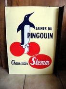 """"""" LAINES DU PINGOUIN """"  """" CHAUSSETTES  STEMM """"  (45 X 60 Cm) - Clothing"""