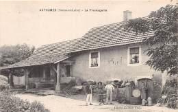 71 - SAONE ET LOIRE / Authumes - La Fromagerie - Beau Cliché Animé - France