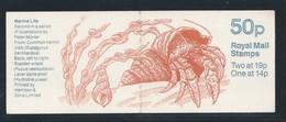 Grande Bretagne 1989 - Marine Life - Neuf** - Très Beau (2 Scans) (Lot 8) - Booklets