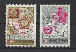 """RUSSIE . YT 3553/3554 Neuf ** Sonde Vénusienne Soviétique """"Venera 5"""" 1969"""