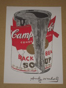 Cpm Andy Warhol 1989 Foundation - Big Torn Campbell's Soup Can - Warhol, Andy