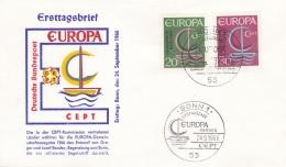 Germany 1966 FDC Europa CEPT (T17-14) - Europa-CEPT