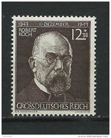 ALLEMAGNE III° REICH - N°  783 -  Robert Koch - **