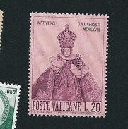 N°  482 Noël  Timbre Vatican (1968) Oblitéré - Oblitérés