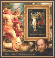 UU297 2011 CENTRAFRICAINE ART PETER PAUL RUBENS PERSEE ANDROMEDE 1BL MNH