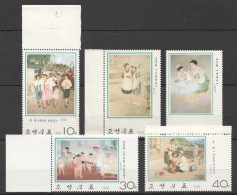 UU158 1976 KOREA ART 1SET MNH
