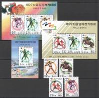 UU18 1998 KOREA SPORT OLYMPIC GAMES SYDNEY 2000 2KB+1BL+1SET MNH