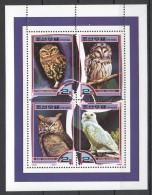 UU2 2000 KOREA FAUNA BIRDS OWLS 1KB MNH