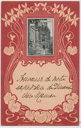 Anvers Art Nouveau St Paul Le Calvaire Edit Gerstacker Chemnitz Timbrée 1900 - Antwerpen
