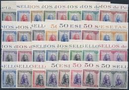 ES402-L4197. Spain Espagne PRO CATACUMBAS DE SAN DAMASO EN ROMA1928. (Ed 402/33**)sin Charnela LUJO BORDE DE HOJA