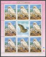 UU88 2006 KOREA FAUNA BIRDS OWL 1KB MNH