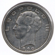 LEOPOLD III * 50 Frank 1940 Frans/vlaams  Pos.A * Z.Fraai * Nr 6619 - 1934-1945: Leopold III