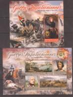 UU268 2016 REPUBLIQUE DE COTE D'IVOIRE NAPOLEONIC WARS THE CAMPAIGN OF ITALY 1796-1797 BL+KB MNH